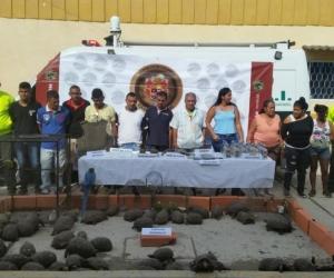 Captura de 9 personas en Fundación, Magdalena.