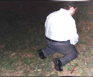 Esta es la imagen que envió el abogado a su prometida.