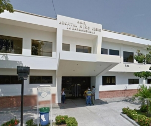 Hospital donde fue atendida la mujer.