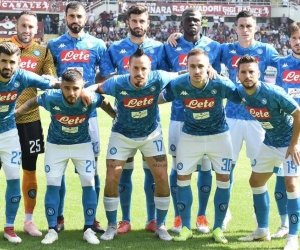 Once titular del Napoli.