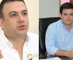 Edwin Besaile y Alejandro Lyons, gobernador y exgobernador de Córdoba, destituidos.