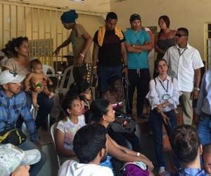 El vicepresidente del Banco Mundial (BM) para América Latina y el Caribe, Jorge Familiar, en su visita a Cúcuta.