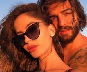 Natalia Barulich, novia del cantante Maluma.