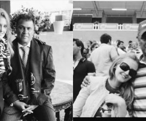 Radamel García King y Lorelei Taron