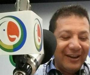 El locutor bogotano Gabriel Mauricio Gracia Ávila.