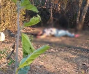El cuerpo sin vida fue hallado en un sector enmontado.