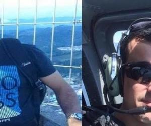 Carlos Quinceno (Izquierda) y Maxwel Joya (Derecha) iban en el helicóptero derribado.