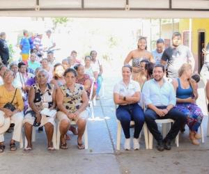 En la mañana de este martes iniciaron las obras en este sector de Santa Marta