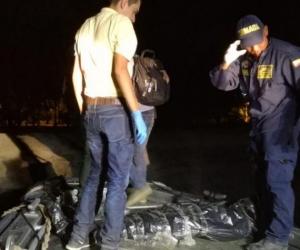 Los turistas murieron ahogados en Playa Brava.
