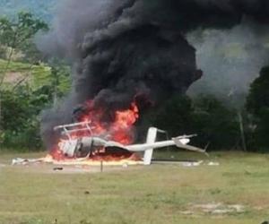 Helicoptero atacado en el Catatumbo