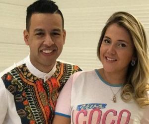 Martín Elías y Dayana Jaimes