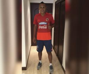 El delantero samario jugará su primer Suramericano con la 'Tricolor'.