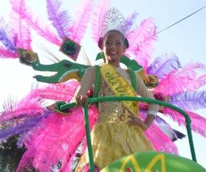La Reina Infantil del Caimán Cienaguero, Luisa Urieles Badillo
