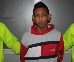 Osnaider José Salas Pérez, capturado