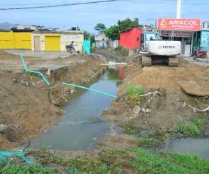 Colector pluvial de la Troncal del Caribe