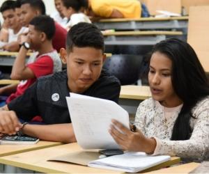 En esta etapa los nuevos integrantes de la comunidad estudiantil hacen parte de una intensiva inducción de ocho horas diarias durante dos semanas.