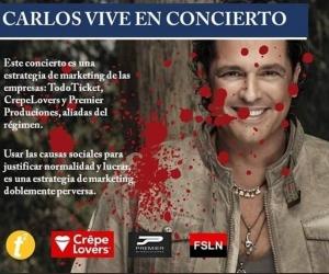 Opositores al concierto le piden al samario que no se manche de sangre las manos.