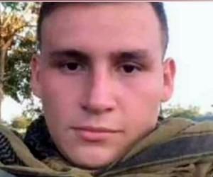 Andrés Felipe Carvajal, cadete fallecido.