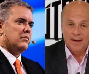 Ivan Duque, Presidente de Colombia y Carlos Antonio Vélez
