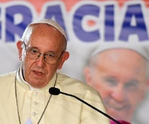 Papa Francisco en misa dominical en la JMJ