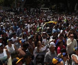 El pueblo venezolano exige la renuncia de Maduro.