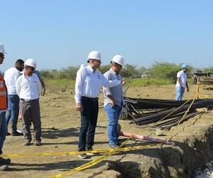 Los cienagueros tendrán la oportunidad de trabajar en las obras que se ejecutan en su municipio.