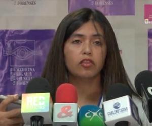 Claudia Adriana del Pilar García Fino, directora del Instituto Nacional de Medicina Legal y Ciencias Forenses.
