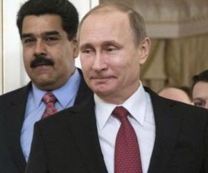 Vladimir Putin y Nicolas Maduro