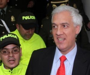 Samuel Moreno, exalcalde de Bogotá.
