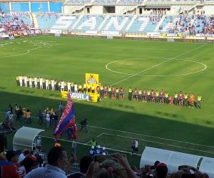 La entrega del estadio ha tenido varias prórrogas por parte del contratista.