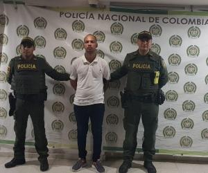 El capturado fue identificado como Israel Sebastián Sandoval Sánchez.