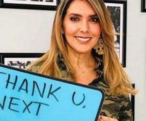 Mónica Rodríguez presentadora del programa Día a Día