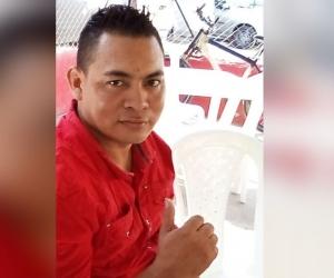 Adrián de Jesús Arévalo Polo, herido en accidente