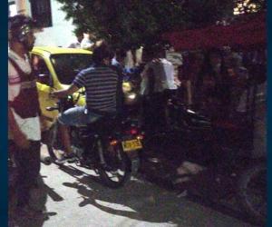 Vecinos entraron en pánico tras la balacera.