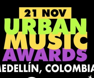 La primera edición de los Urban Music Awards se celebrarán en Medellín, el 21 de noviembre.