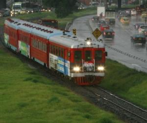 Tren de la Sabana, en Bogotá.
