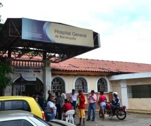Los lesionados fueron atendidos en el Hospital General de Barranquilla.