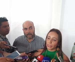 Claudia Carrasquilla, delegada para la Seguridad Ciudadana Seccional de Magdalena.
