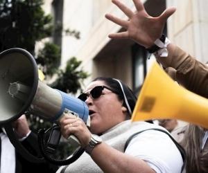 Adriana Torres, la supuesta 'monja' uribista de la comunidad carmelita