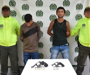 Enedis Maldonado Correa y Jorge Hernández Mahecha, capturados