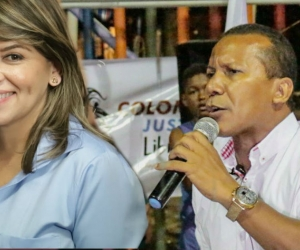 Virna Johnson y Jaime Cárdenas.