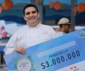 Mauricio Cubillos, ganador del primer lugar