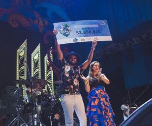 El ganador del primer puesto recibió 3 millones de pesos.