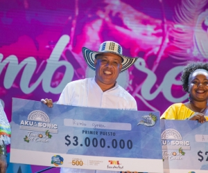 Estos fueron los ganadores del Festival de Tambores del Caribe.