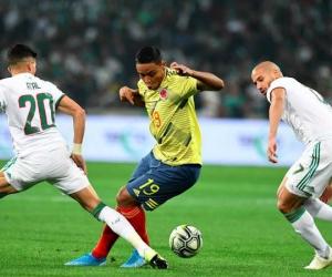 La Selección Colombia de fútbol fue humillada por su similar de Argelia.