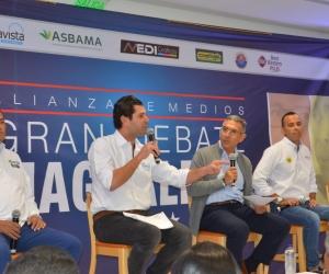 Los magdalenenses han escuchado las propuestas de los candidatos a la Gobernación.