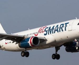 Avión de JetSmart.