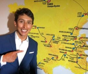 Egan Bernal, en la presentación del Tour 2020.