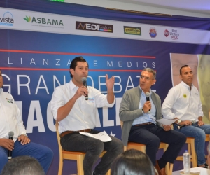 Gran debate candidatos a la Gobernación del Magdalena