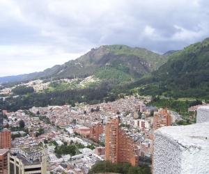 Panorámica de Bogotá, capital de Colombia.